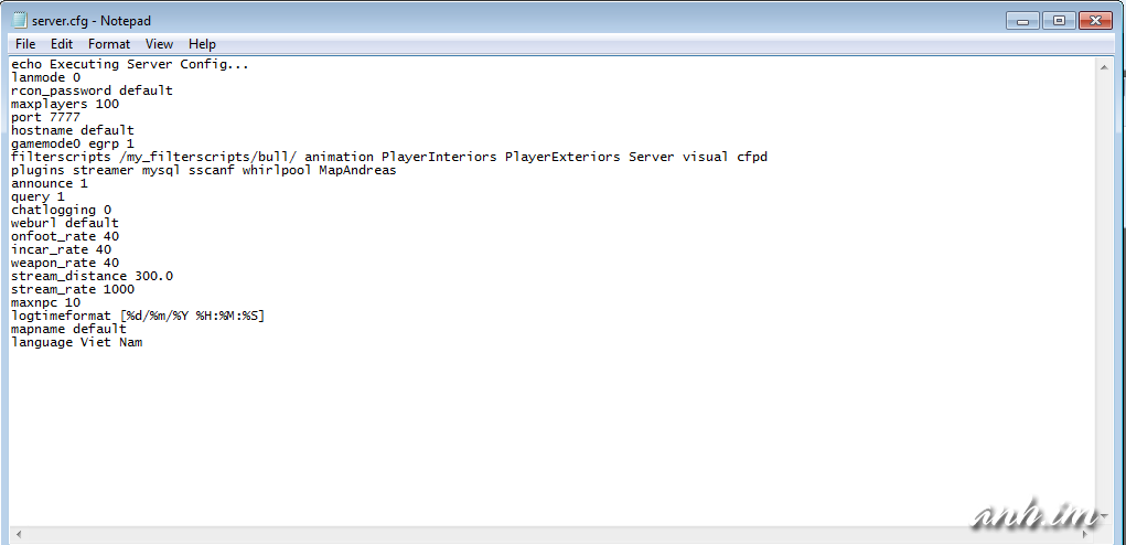 [Hướng Dẫn] Cách tạo server SAMP[~] Untitled16979a