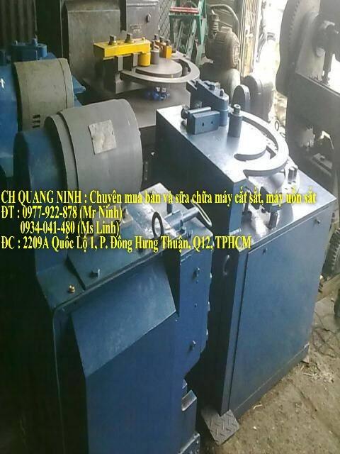 Quang Ninh : Chuyên mua bán và sữa chữa máy cắt sắt, máy uốn sắt